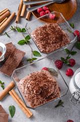 Delish chocolate pudding