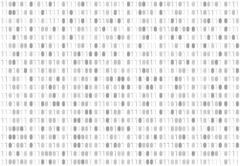 Binary code pattern. Seamless digital technology background. abstract matrix. programming computer code. technology concept. vector