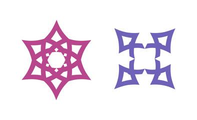 Set of Wiccan Symbols