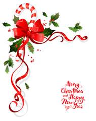 Christmas floral decoration