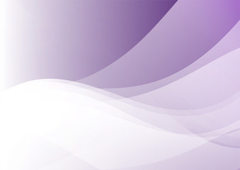 Purple and gray abstract wave background with place for your text