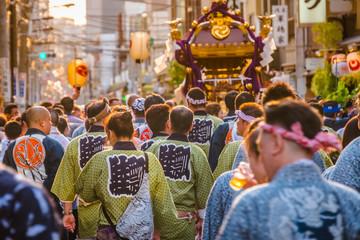 Street festival in Tokyo