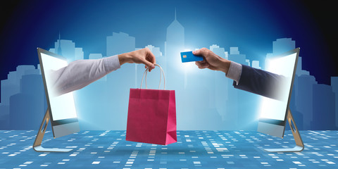 Online shopping through buying from internet
