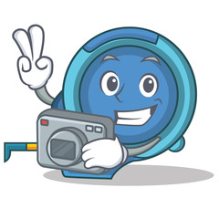 Photography tape measure character cartoon