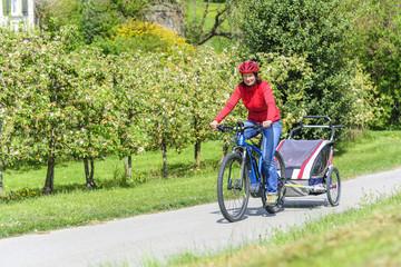 Radtour mit Nachwuchs mit dem Pedelec