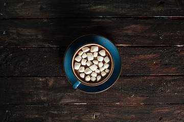 Top View Hot Chocolate