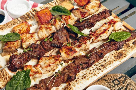 Various Shish Kebab