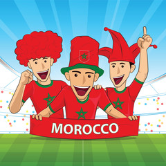 morocco football support
