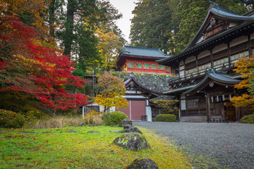 Autumnal scenery of Nikko national park, Japan