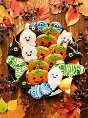 Gingerbread Halloween cookies