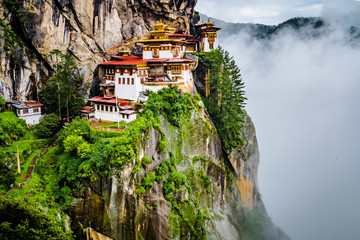 View on Tiger's nest monastery, Bhutan