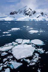 Poster Antarctica Paradise Bay, Antarctica
