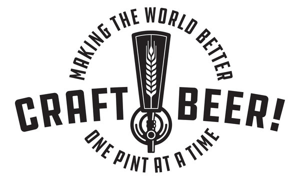Craft Beer Vector Design
