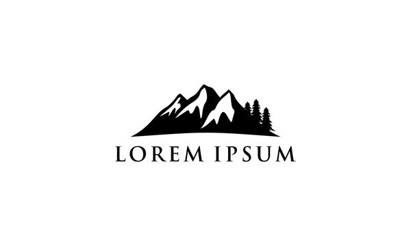 Mountain Logo Template Mountain icon
