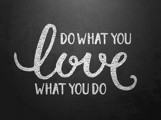 do what you LOVE what you do on blackboard