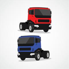 Truck Vector Template Design