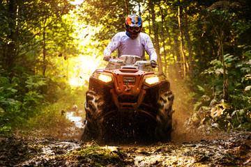 Acrylic Prints Motor sports ATV