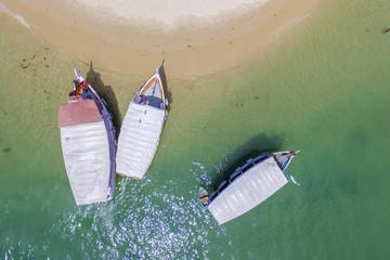 Vista Aérea da Praia da Gamboa, Bahia, Brasil