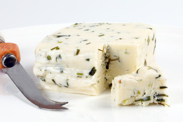 Fresh Cheese with Chive Herbs