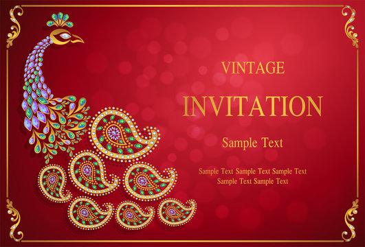 63 350 Best Indian Wedding Invitation Background Images Stock Photos Vectors Adobe Stock