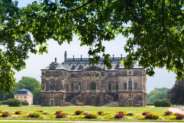 Palais Großer Garten in Dresden, Germany