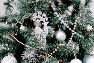 festive Christmas jewelry and decor