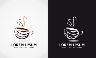 cup coffee logo
