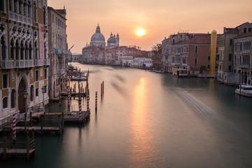 Canale Grande, Blick von der Ponte dell Accademia, Venedig