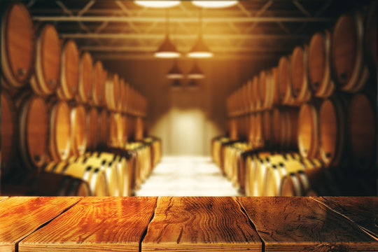 Winery and alcohol concept