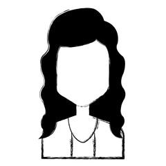 beautiful woman avatar character