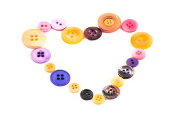cuore di bottoni