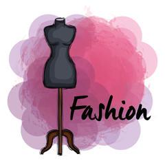 female fashion manequin icon