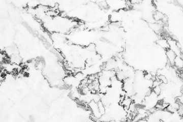White marble natural pattern for background, abstract natural marble black and white for design