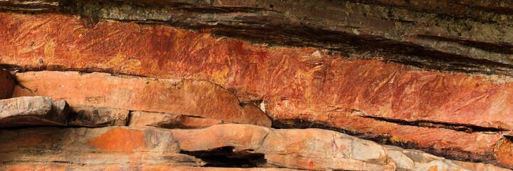 Aboriginal Rock Art, Ubirr Region, Kakadu NP.