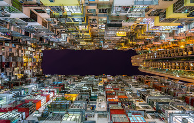 Famous apartment building shows how people living in Hong Kong