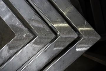 angle metal texture Wall mural