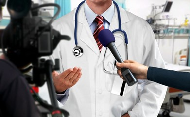 Press Press interview with medical doctor with medical doctor