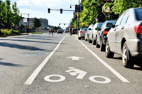 Bike Lane In The City