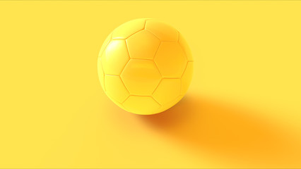 Yellow Football