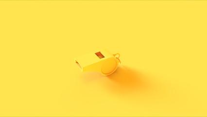 Yellow Whistle Fototapete
