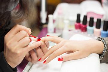 nail paintings service