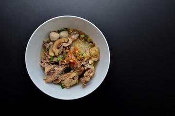 noodles soup - Popular food at thailand