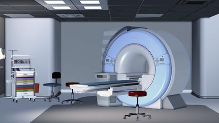 Moderner Raum zur Röntgendiagnostik