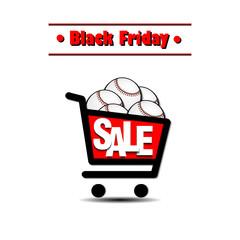 Black Friday Sale baseball