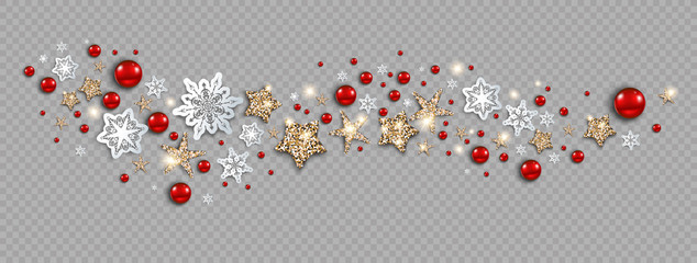 Fotomurales - Holiday decor banner