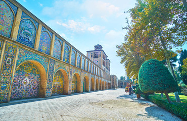 Edifice of the Sun, Golestan, Tehran