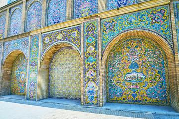 Among the patterns of Golestan, Tehran