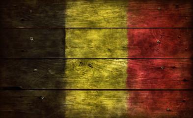 Wall Mural - flagge belgien