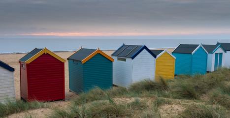 Beach Huts at Southwold