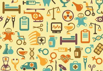 Medical background. Vector illustration